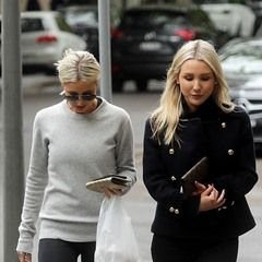 Roxy Jacenko steps out after final cancer treatment