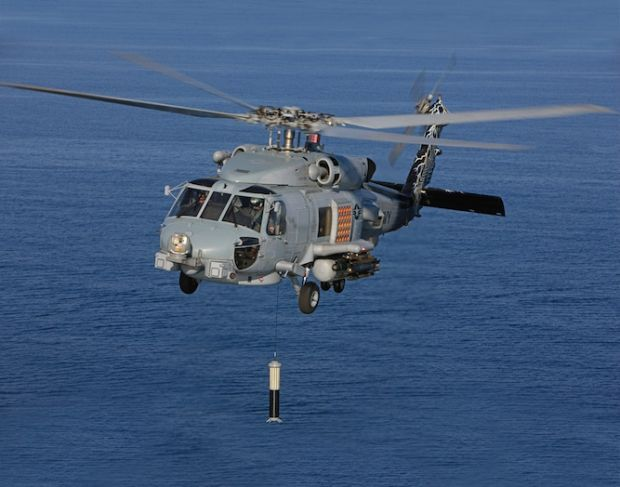 """S-70B version is the export version of MH60R, the last development SH60 """"SeaHawk"""" for anti-submarine and surface ships fight. It replaces and incorporates all the functions currently assigned to existing SH60B and SH60F. Designed by Sikorsky has a Lockheed Martin interface, the MH-60R represents the evolution of previous versions, thanks to the lessons learned during various deployments and during numerous operations in recent years."""