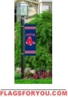 "Red Sox Post Banner 30"" x 11"""