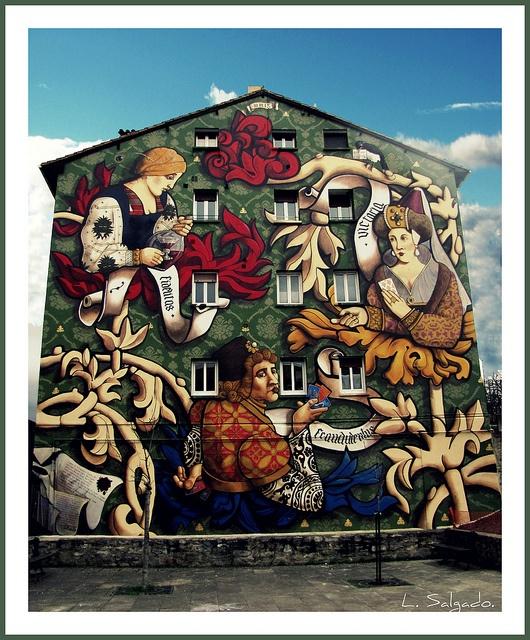 Mural del Campillo (Vitoria-Gasteiz). by Luís Salgado., via Flickr