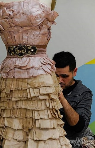 project runway dress-love me some Michael!