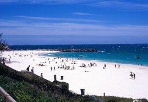 Fremantle beach Western Australia