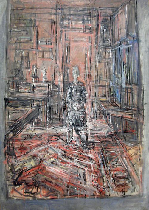 """Alberto Giacometti, The Artist's Mother (1950). MoMA, NYC. """"It was always disappointing to see that what I could really master in terms of form boiled down to so little.""""— Alberto Giacometti"""