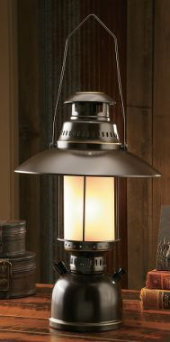 Cabelau0027s Grand River Lodge™ Electric Lantern Table Lamp U2013 Large