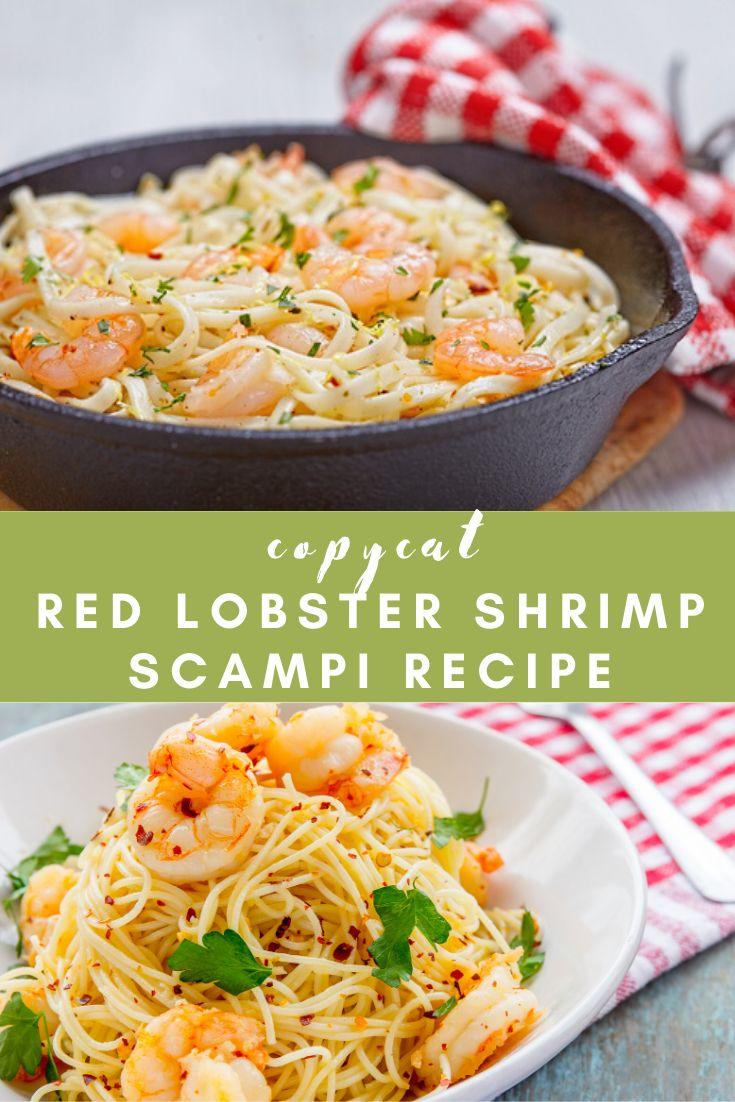 Red Lobster Shrimp Scampi Recipe Red lobster shrimp, Red