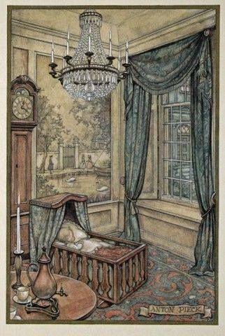 .Антон Пик (Голландский Иллюстратор 1895-1987)