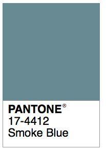 pantone smoke blue - Google Search