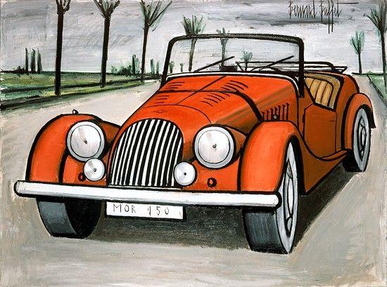 Bernard Buffet - Morgan 1950 - 1984, oil on canvas - 97 x 130 cm