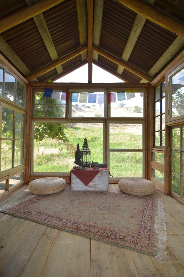 Meditation Room Made With Recycled Windows By Sarah Greenman Homeowner Tymmera Whitnah