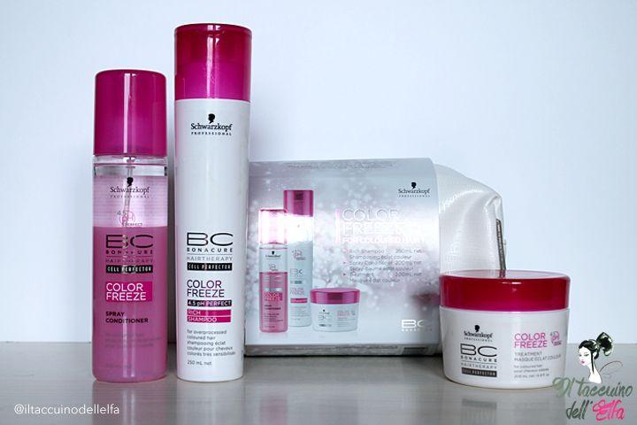 Schwarzkopf Professional BC Bonacure Color Freeze - Come dall'Hair Stylist | Il Taccuino dell'Elfa