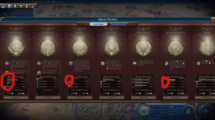 Why do some civilizations have a brown icon in the great people panel and others have blue? #CivilizationBeyondEarth #gaming #Civilization #games #world #steam #SidMeier #RTS
