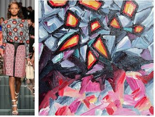 Splash Connect: Louis Vuitton - Resort 2015 - Palette Splash - Appricot / Yellow Ochre / Red / Charcoal / Grey / Pink / White