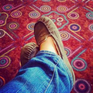 I love weird carpets. <3