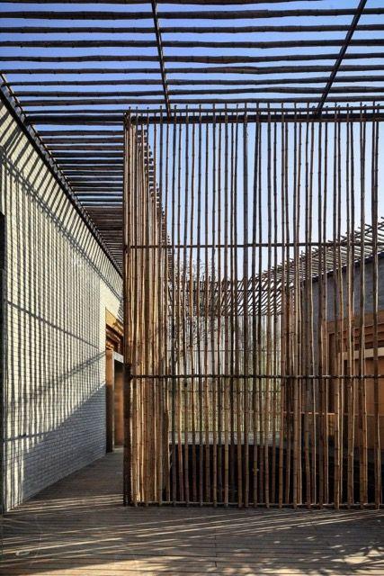 rebar, metal, see through, modern fence, modern wall ...
