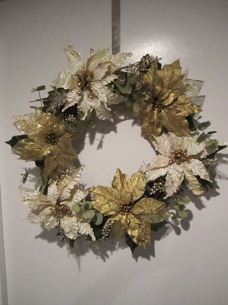 Christmas and winter wreath
