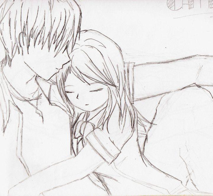 top 12 cute couples in love drawings