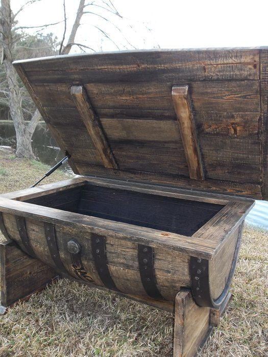 25 best ideas about whiskey barrel coffee table on. Black Bedroom Furniture Sets. Home Design Ideas