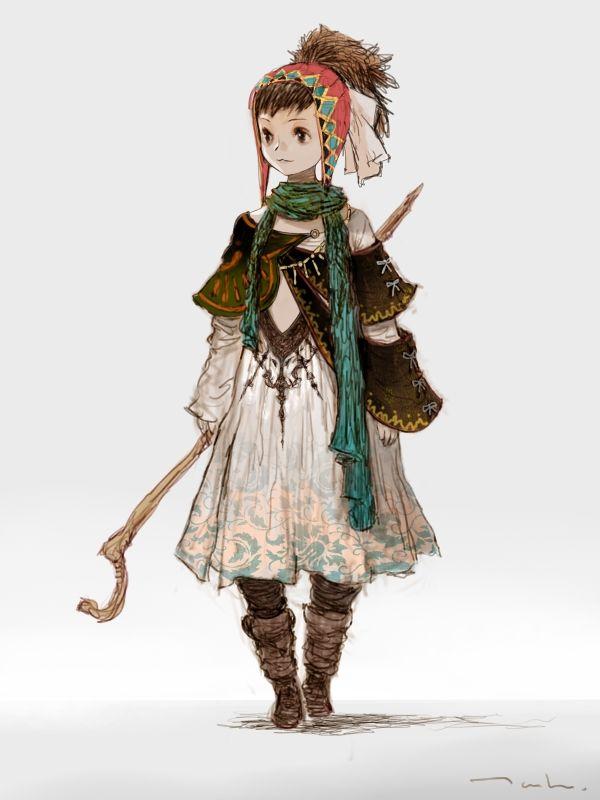 Character Design Monthly : Les meilleures images du tableau rpg gnome female