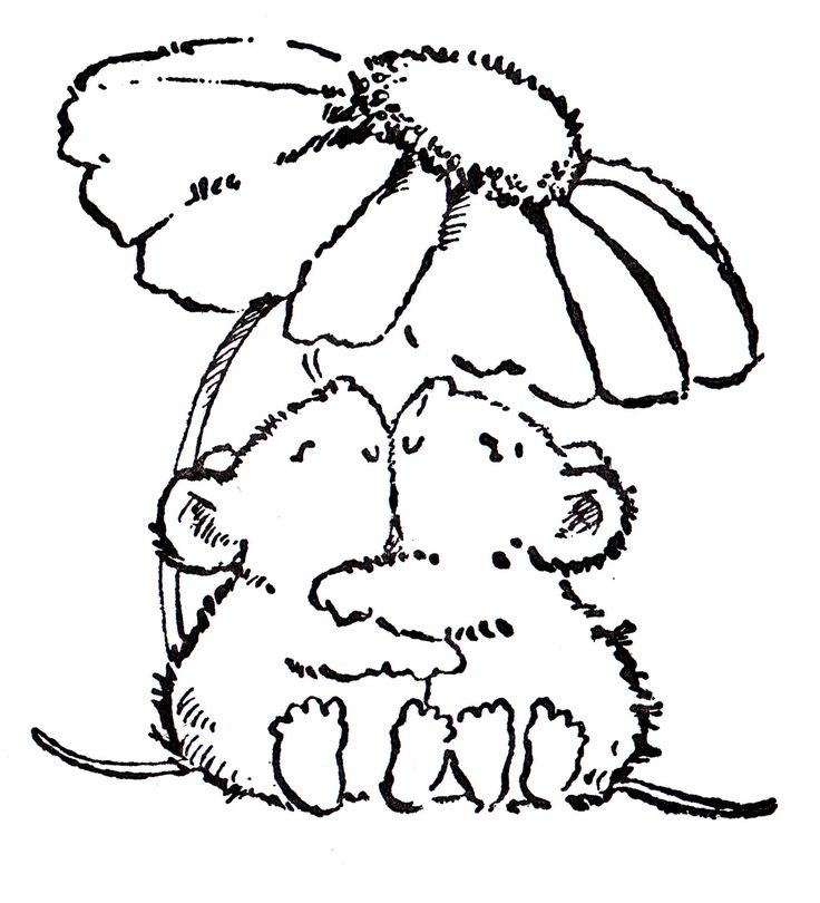 House Mouse    (....cr...this is not House Mouse, it is the mice from Penny Black...cute)