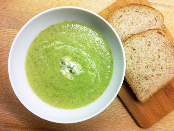 I dag var det høst i været, så da passet det godt med en god og varm suppe. Oppskrift på Brokk...