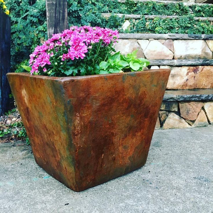 590 best images about metal effects projects on pinterest for Clay pot painting techniques