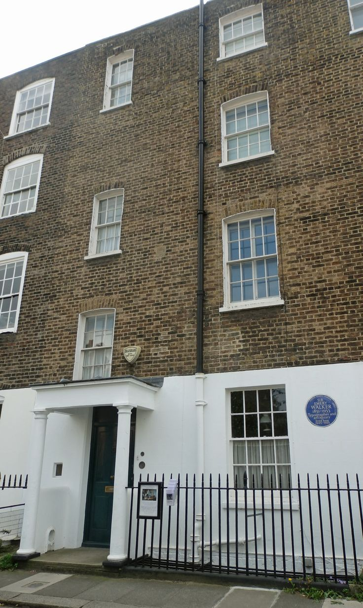 17 best images about the emery walker house on pinterest for 7 hammersmith terrace