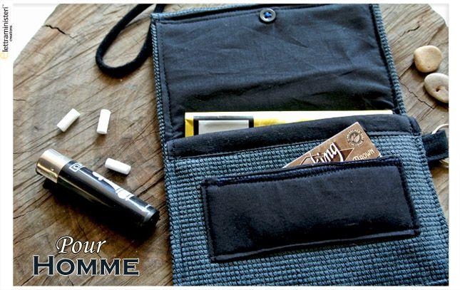 tobacco pouch - Porta tabaccco Handmade