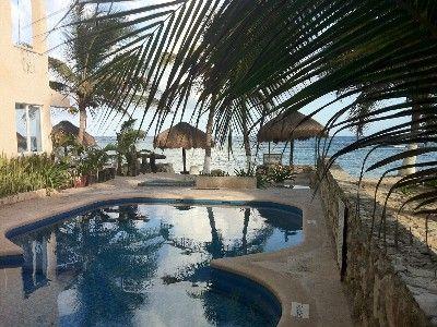 Pool view at Hacienda de la Tortuga