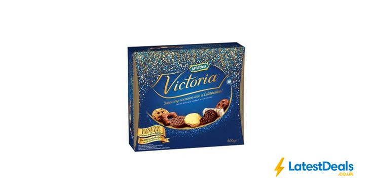 McVitie's Victoria Carton Chocolate Biscuits 600g, £3 at ASDA