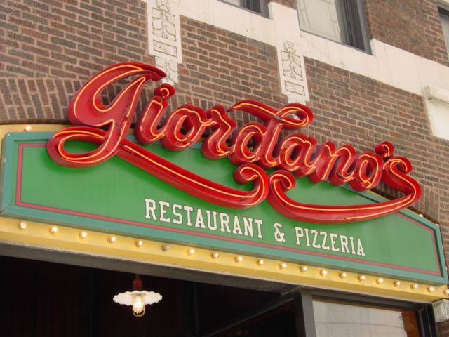 Giordano S Pizza On Rush Street In Chicago Best Anywhere And Yes I Ve Had The At John New York It No Compariso