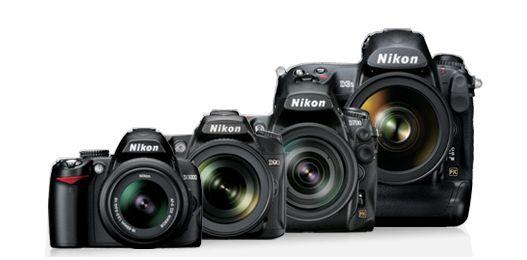 Kategori-Kategori Kamera DSLR Keluaran Nikon
