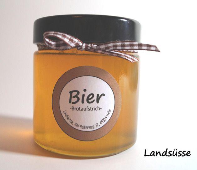 Marmelade - Bier - Aufstrich zum Vatertag - ein Designerstück von Landsuesse bei DaWanda