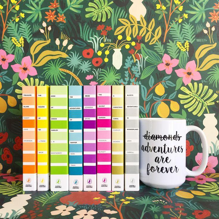 Puffin & Pantone book series