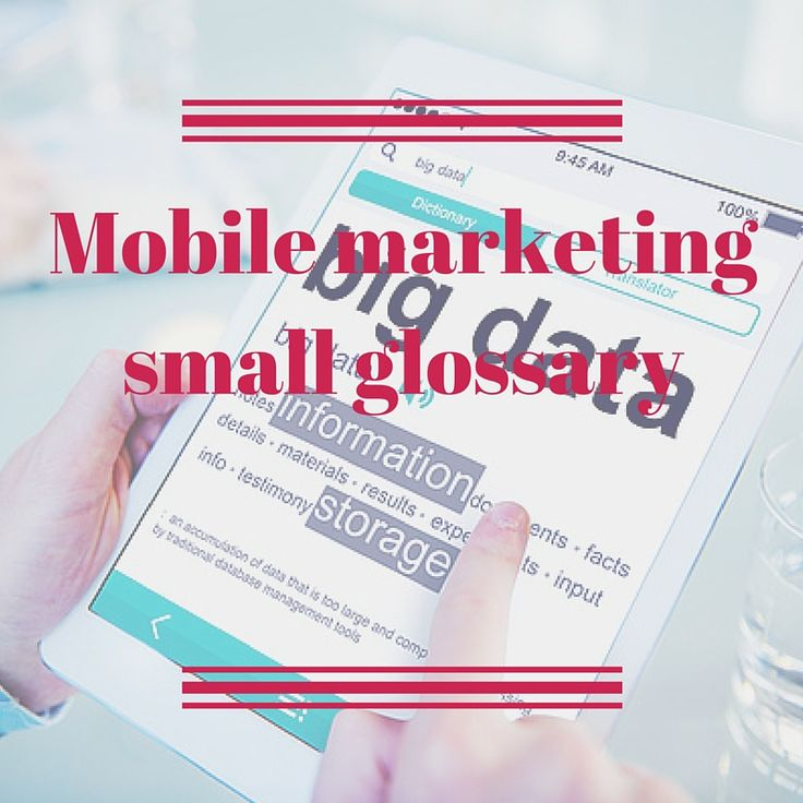 #CRMfroMobile #MobileMarketingAutomation #MobileMarketing #MarketingAutomation #glossary