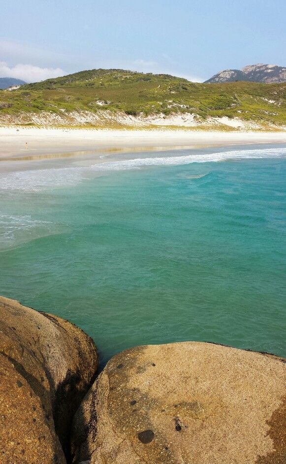 I could sit here all day - Squeaky Beach, Wilsons Promontory National Park, Victoria, Australia
