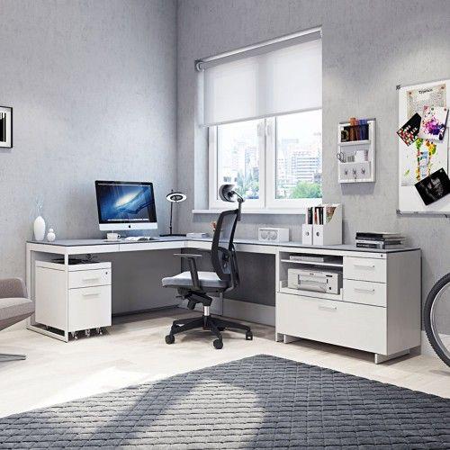 centro home office corner desk