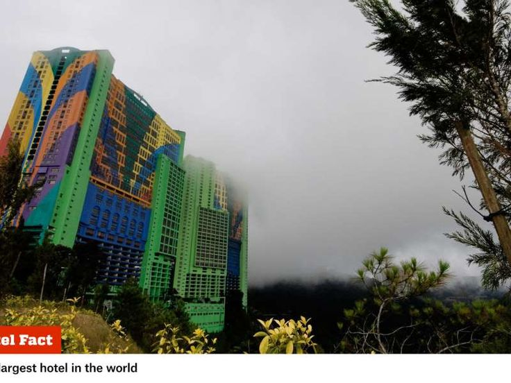 The First World Hotel and Plaza in Genting Highlands, Malaysia, is so much more than its 7,351 rooms... - Provided by Popular Mechanics