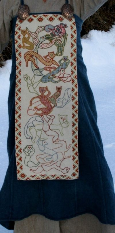 Wonderful Norwegian recreationist site. loads of beautiful needlework