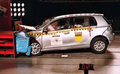 Vw Golf Vi Achieves 5 Star Rating At Euro Ncap Crash Tests