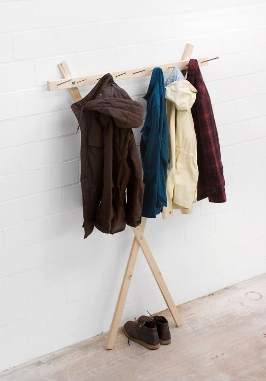 17 Best Images About Coat Rack On Pinterest Clothes