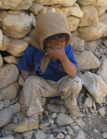 Child in despair.....