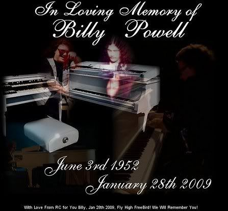 "~William Norris ""Billy"" Powell (June 3, 1952 – January 28, 2009) was an American musician."