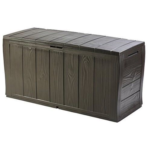 Plastic Garden Storage Box Outdoor Garden Plastic Storage 117x45x57.5cm No  Fade