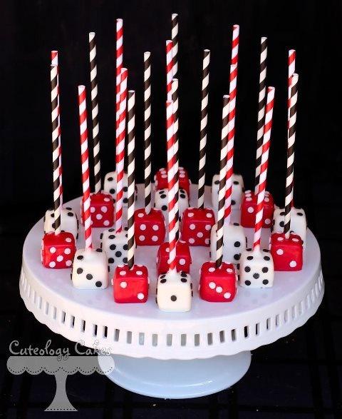 Italian Themed Cake Pops