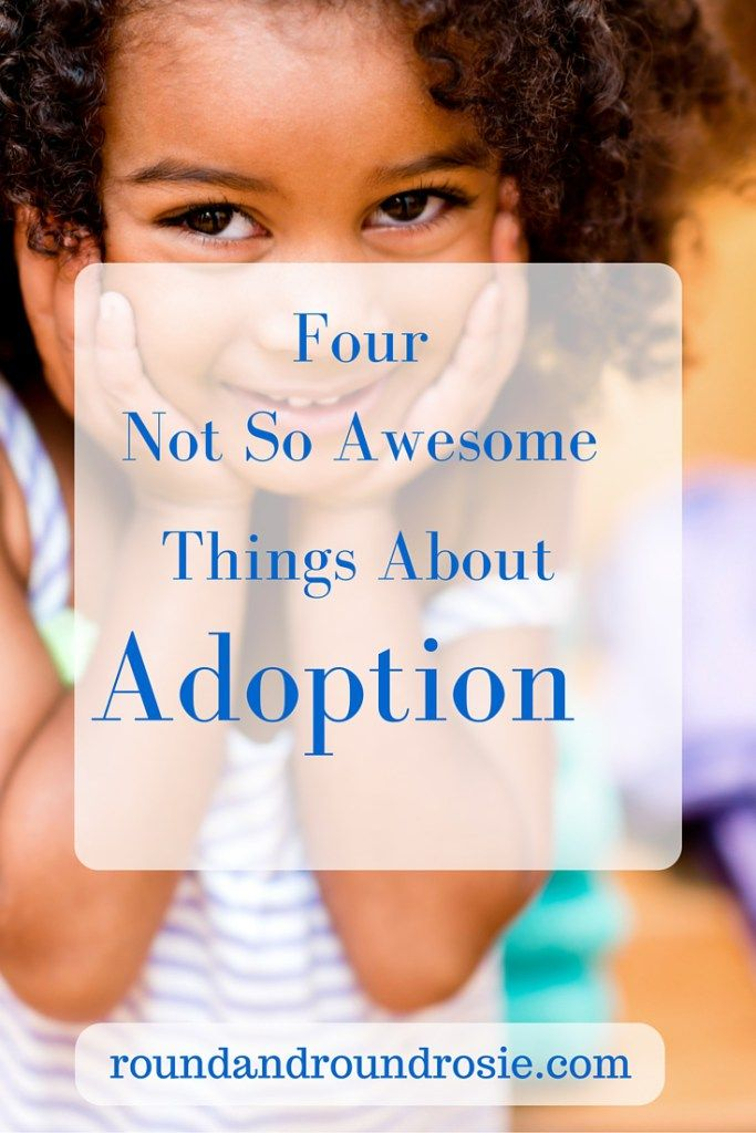 4 Things I Wish I Could Change About Adoption. I'm a mom through adoption, I…