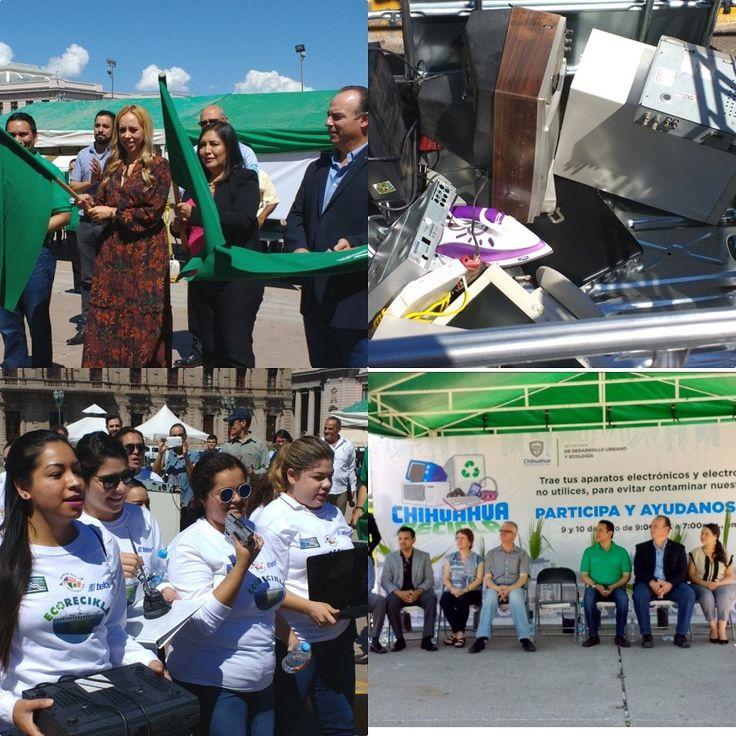 <p>Chihuahua,Chih.- La secretaria de Desarrollo Urbano y Ecología de gobierno del estado, Cecilia Olague Caballero, el delegado de la Profepa en Chihuahua,