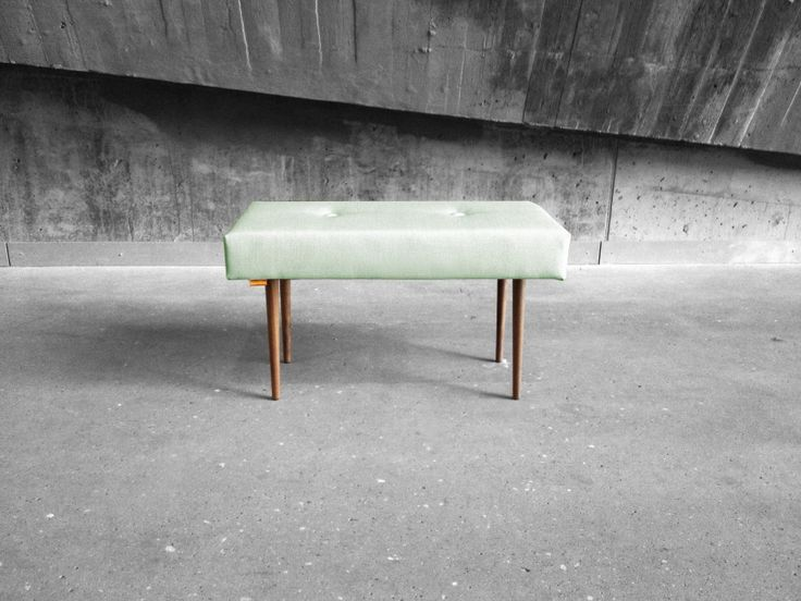 BENCH | take a seat | fresh mint with natural finish legs www.benchtakeaseat.com