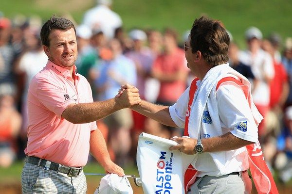 Graeme McDowell in winning ways! The 2013 Alstom Open de France Champion.