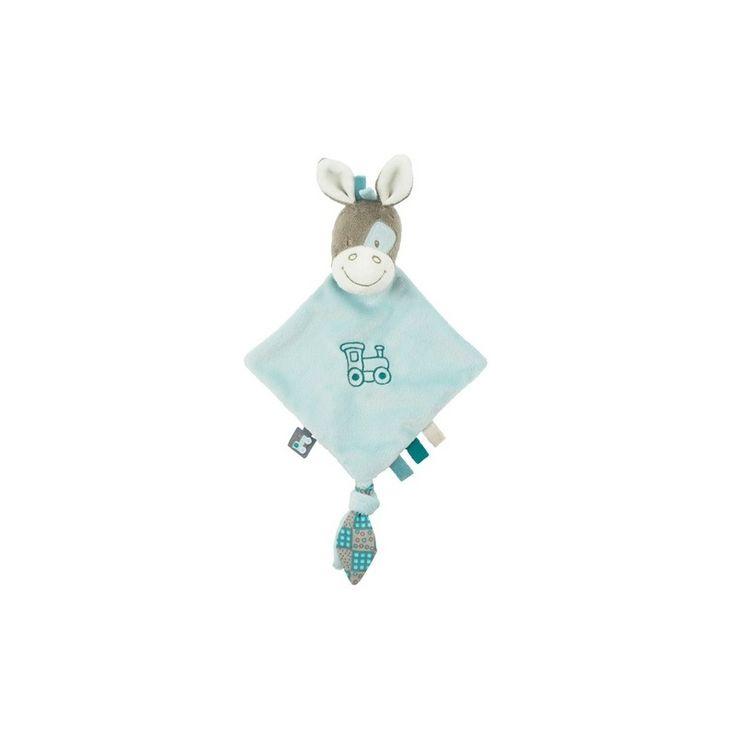 Nattou Gaston & Cyril Mini Doudou Gaston het paard. Zeer zachte, kleine doek, die als handpopje gebruikt kan worden en zeker en vast je baby's goede vriend wordt. Hij kan ook bevestigd worden aan de fopspeen.