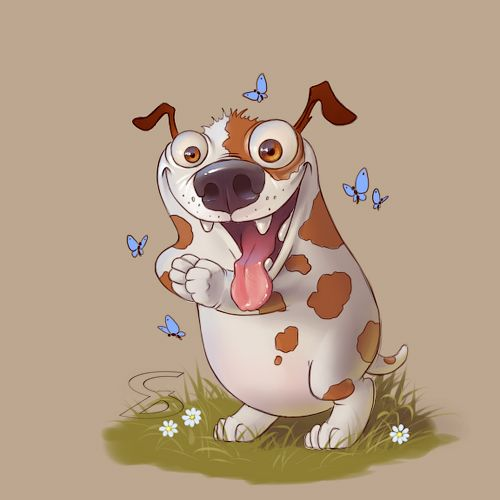 #dog #art #characterdesigne #cartoon #drawing #digitalart #painting #illustration #conceptart #иллюстрация #рисунок